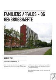 FAMILIENS AFFALDS - OG GENBRUGSHæFTE - Bo-Vest