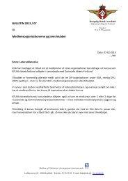 bulletin 2013-07 lederuddannelse - Kongelig Dansk Aeroklub