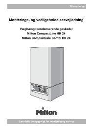 IM Milton CompactLine (Combi) HR24 - DE