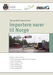 Import - Næringsetaten Oslo kommune