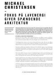 Læs hele interviewet - Dansk Arkitektur Center