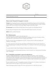 Referat af rådsmøde 15. marts 2012 - Vidensråd for Forebyggelse