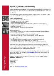 (System-)Ingeniør til Teknisk afdeling - Air Greenland
