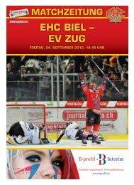 EHC bIEL – EV ZUG