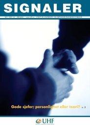 SIGNALER 1-2007:mal - Akademikerforbundet