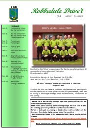 Juli 2005 - Bornholms Golfklub