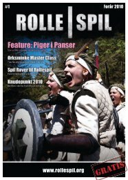 spil #1 - Magasinet ROLLE|SPIL