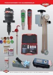 Pdf-brochure for Kølesmøremidler - KABI