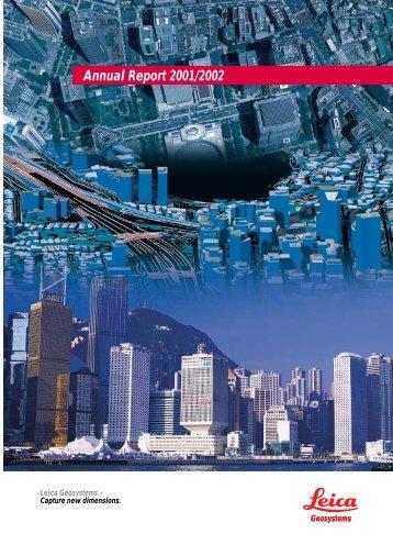 Annual Report 2001/2002