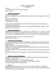 Referat bestyrelsesmøde d. 12. Juni 2013 - Nykøbing Sjælland ...
