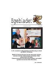 NR. 6 December 2006 9. årgang D. 25. november ... - Egebjerggård