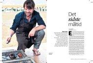 Interview. Stjernekokken René Redzepi fra restaurant Noma har et ...