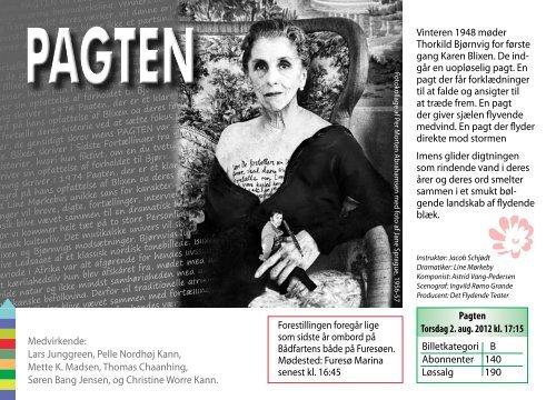 program 2012-2013 - Furesø Teaters