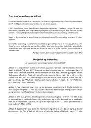 Download de 28 teser i PDF-format her - Israelsmissionen