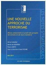 Une nouvelle approche du terrorisme - CEIS