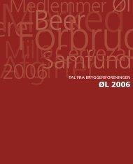 øl 2006 - Bryggeriforeningen