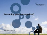 Hvad er personlig gennemslagskraft?
