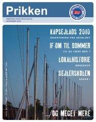 Sejlklubben Greve Strand på tryk NOVEMBER 2009