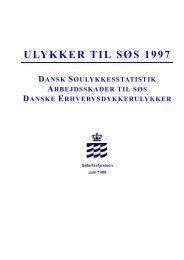 ULYKKER TIL SØS 1997 - Søfartsstyrelsen