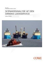 scenarieanalyse af den danske lodsservice - Søfartens Ledere
