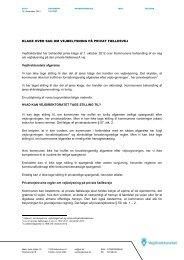 12/10927 klage over sag om vejbelysning på privat ... - Vejdirektoratet