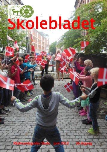 Skolebladet juni 2013.pdf - Rådmandsgades Skole