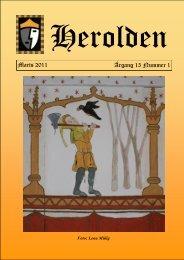 Marts 2011 Årgang 15 Nummer 1 - Herolden