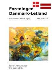 Blad nr. 4 - 2006 - Foreningen Danmark - Letland