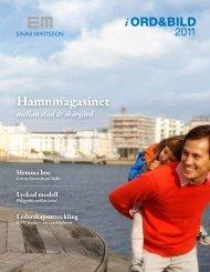 Einar Mattsson i ord och bild 2011