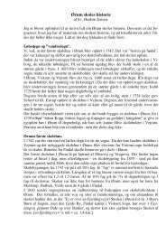 Ørum skoles historie - Tjele arkiv