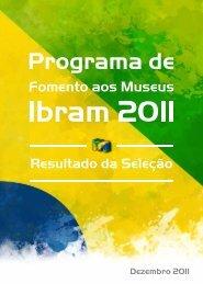 Resultado da Seleção - Instituto Brasileiro de Museus