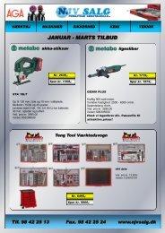 JANUAR - MARTS TILBUD - F.wood-supply.dk