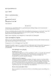 Den 14. juni 2010 blev der i sag nr. 1/2009-S ... - Revisornævnet