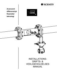 vedligeholdelses manual - Industrial Service and Supply Inc.