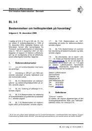 BL 3-5 Bestemmelser om helikopterdæk på havanlæg*