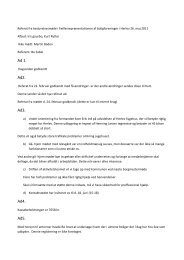 Referat af bestyrelsesmøde 26. maj 2011