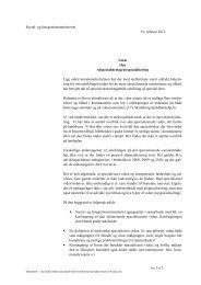 Aftale om specialviden på det sociale område