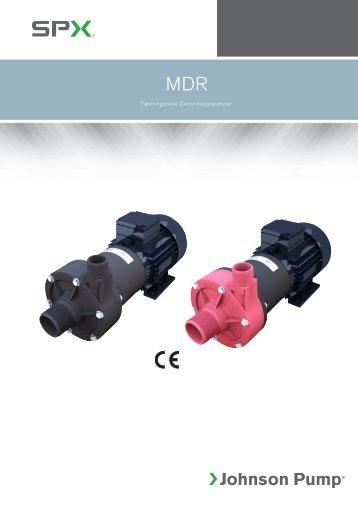 Tætningsløse Centrifugalpumper - Johnson Pump