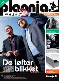 Plannja Magazine #2 2009
