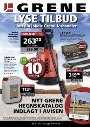 INKL. - Vi har kataloger fra Grene produkter