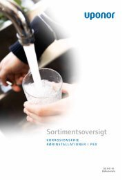 Sortimentsoversigt VVS 2013 PPSU - Uponor