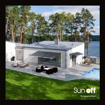 Terrassemarkiser - Sunoff