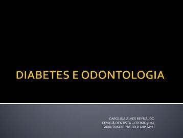 DIABETES E ODONTOLOGIA - IPSM