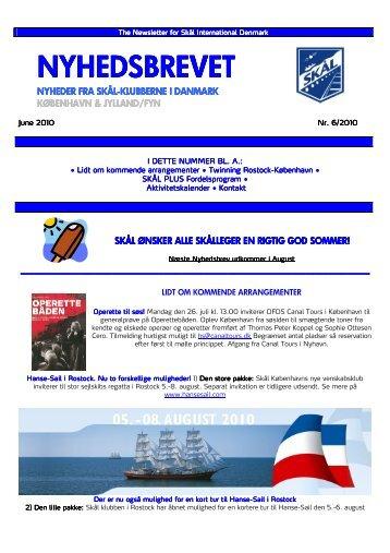 Nyhedsbrev Juni 2010 - DK
