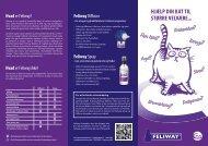 Feliway brochure - Kruuse