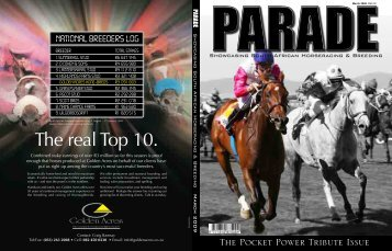 The Pocket Power Tribute Issue - PARADE MAGAZINE
