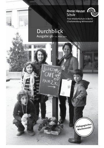 Durchblick - Annie Heuser Schule