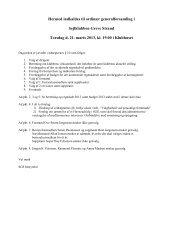 indkaldelsen til generalforsamlingen - Sejlklubben Greve Strand