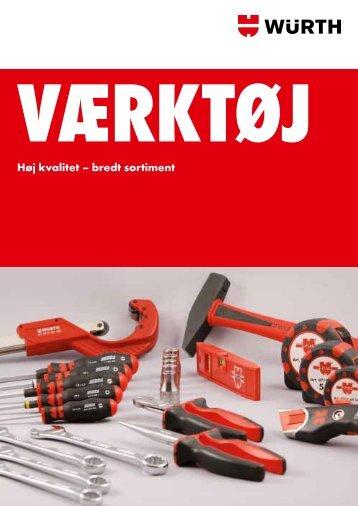 Se vores værktøjskatalog her - Würth Danmark A/S