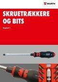 Se vores værktøjskatalog her - Würth Danmark A/S - Page 7